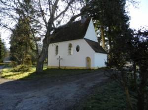 Kapelle des Gut Zollhaus von Tierarzt Dr. Hebeler in Türkheim bei Buchloe, MIndelheim und Bad Wörishofen